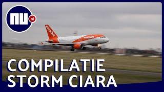 Wind met orkaankracht: Nederland in ban van storm Ciara | NU.nl