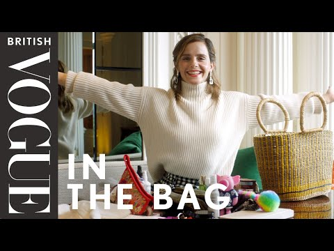 Emma Watson with British Vogue