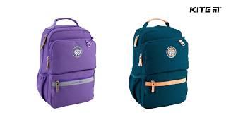"""Рюкзак молодежный College Line K18-891L-2 от компании Интернет-магазин """"Радуга"""" - школьные рюкзаки, канцтовары, творчество - видео"""