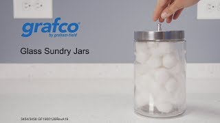 Glass Sundry Jars Youtube Video Link