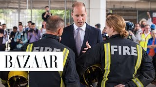 Prince William Breaks Royal Protocol To Hug A Victim Of The London Fire