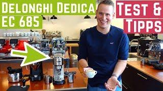 DeLonghi Dedica EC 685 - Espressomaschine unter 200 €, schmeckt der Espresso?