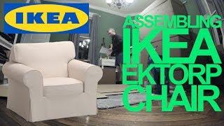 Ikea EKTORP Chair Assembly