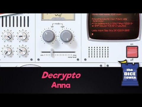 Decrypto Review with Anna