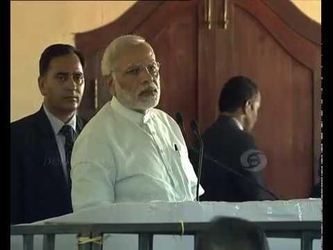 PM Modi's address to people in Poonthura, Thiruvananthapuram