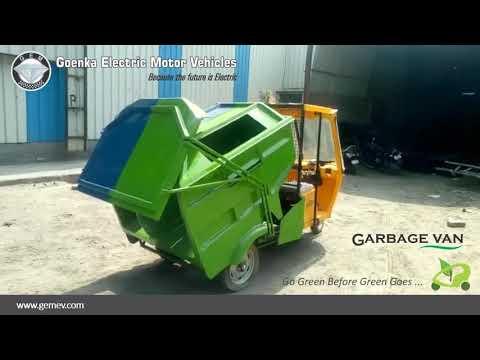 GEM Samrat Garbage Van