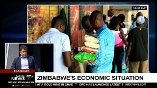 Zimbabwe's Economic Situation: Antony Sguazzin