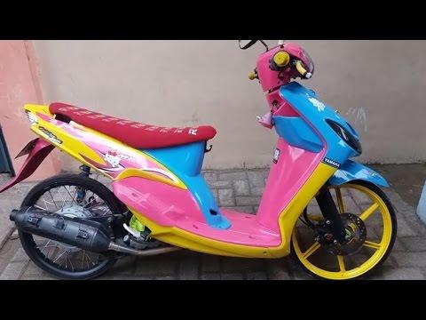 Video Racing Motorcycle - Yamaha Mio Modifikasi Thai Look