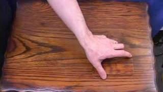 Finish Restoration For Antique Wood Furniture.  Video - DVD