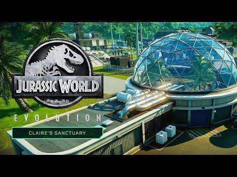 CLAIRE'S SANCTUARY DLC! Trailer Breakdown & Discussion | Jurassic World: Evolution DLC