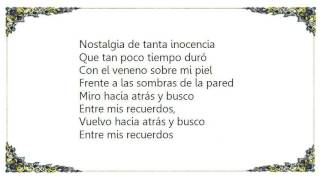 Chayanne - Entre Mis Recuerdos Lyrics