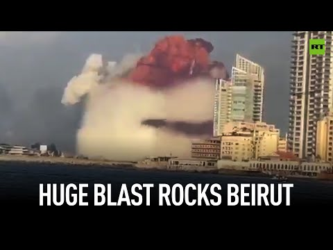 Beirut explosion: Many injured, port flattened as giant mushroom cloud rises above Lebanon's capital