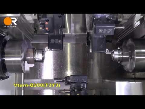 Vturn - Q200 - 2-Teile Bearbeitung