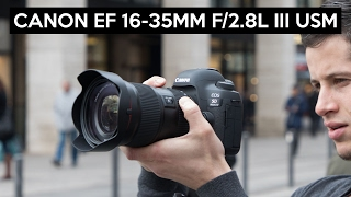 Canon EF 16-35mm F/2.8L III USM English review | Canon 5D MK IV
