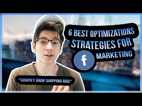 OPTIMIZE FACEBOOK ADS WITH THESE 6 TRICKS *shopify dropshipping marketing guide*