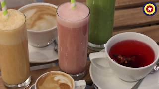 Dairy Free Drinks At 3 Squared