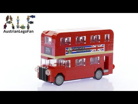Vidéo LEGO Creator 40220 : Le bus de Londres