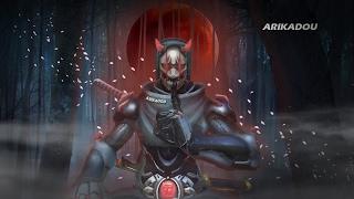 Genji becomes Oni (Overwatch)
