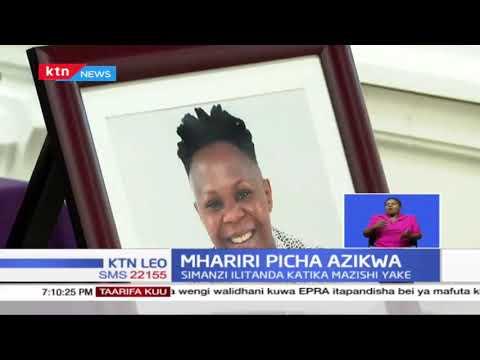 Mhariri wa picha katika runinga ya KBC aliyeuawa Betty Barasa amezikwa leo katika eneo la Ololua