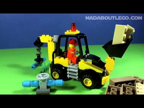 Vidéo LEGO Juniors 10666 : La pelleteuse