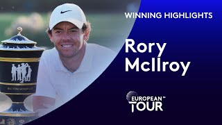 Rory McIlroy Wins The 2019 WGC HSBC Champions | Extended Winning Highlights