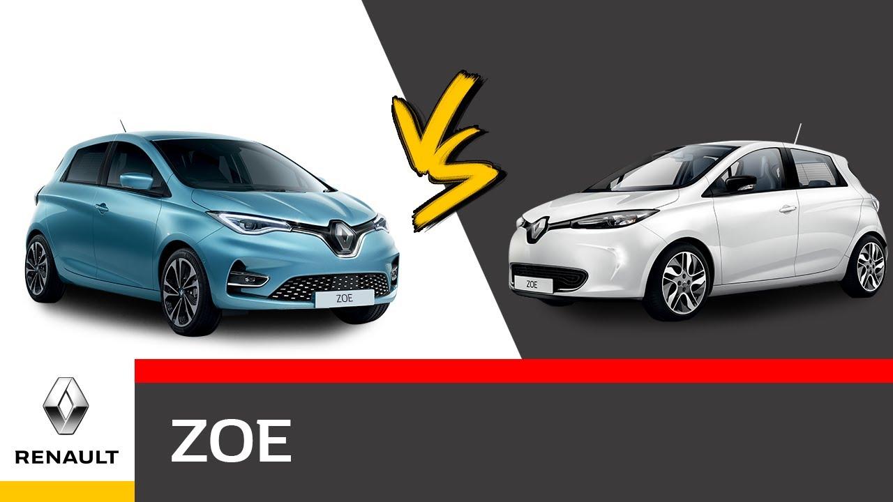 Renault ZOE Video Nuova ZOE vs ZOE