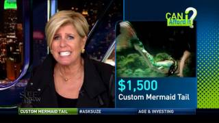 Buying a Custom Mermaid Tail? Can I Afford It? Part 1 | Suze Orman