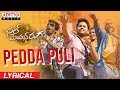 Pedda Puli Lyrical || Chal Mohan Ranga Movie Songs || Nithiin,  Megha Akash || Thaman S