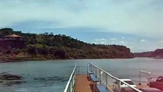 preview picture of video 'Triple Frontier, Paraguay-Argentina-Brazil, Paraná River, Puerto Iguazú, South America'