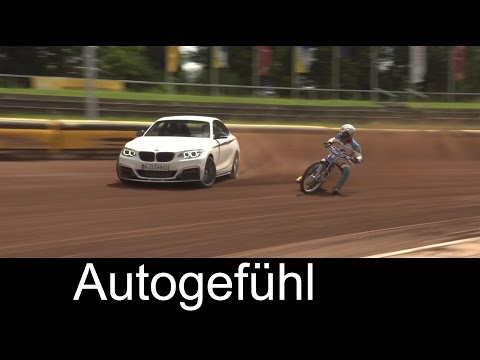 BMW M235i Coupé drift challange with Speedway champion BMW 2-Series M - Autogefühl
