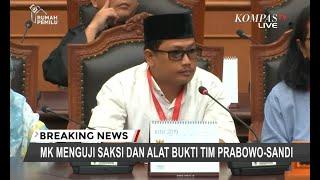 Saksi BPN Sebut Oknum Polisi Tak Netral karena Bilang Jokowi Orang Baik