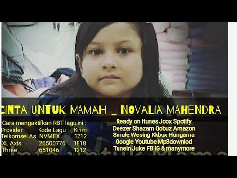 Novalia mahendra   cinta untuk mamah  official video lyric