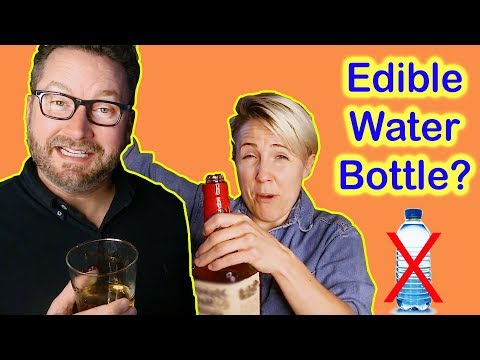 DIY Edible Water Bottle? || Burnie Burns from Rooster Teeth!