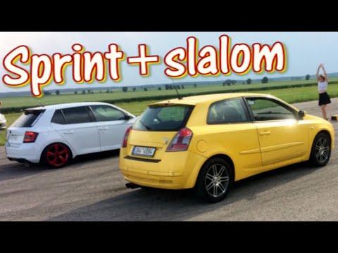 Event-VLOG #98 - Slalom & Sprinty s Fiatem Stilo Abarth