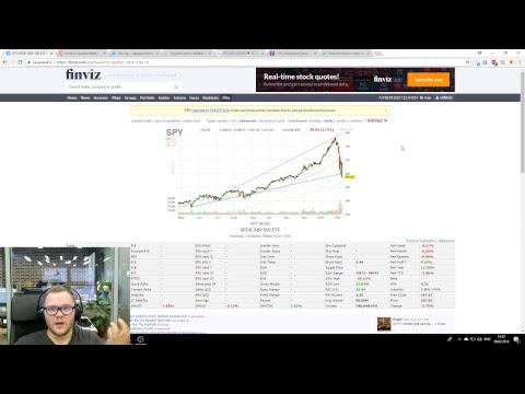 Ликбез: Падение американских акции и падение криптовалюты
