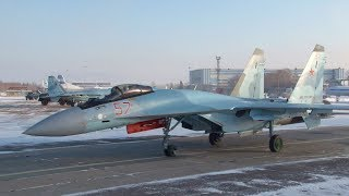 Сотый серийный многоцелевой истребитель Су-35С передан Минобороны РФ