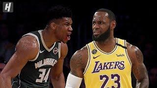 Milwaukee Bucks Vs Los Angeles Lakers - Full Game Highlights | March 6, 2020 | 2019-20 NBA Season