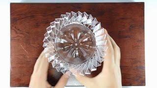 How To Make Flower Vase From Plastic Bottles | DIY Tutorial