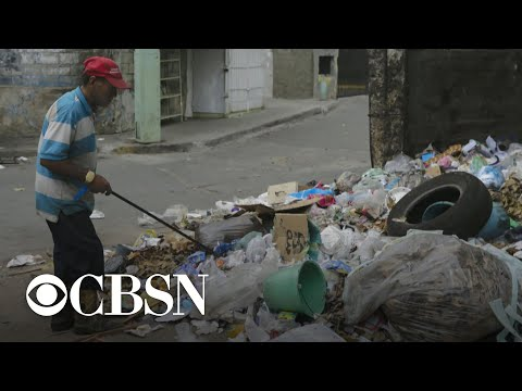 Residents struggle amid Venezuela's economic collapse