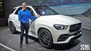 The New Mercedes GLE is an SUV Tech Fest! | FIRST LOOK