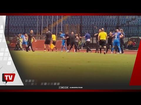 احتفال جنوني للاعبي وجماهير الاتحاد عقب التعادل مع الزمالك