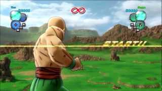[Dragon Ball Z - Ultimate Tenkaichi] - Story Mode 4 - Tien vs. Nappa
