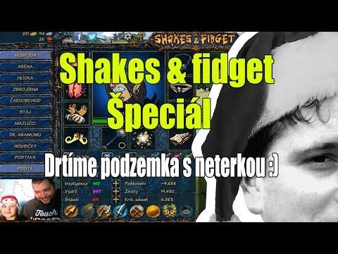 Shakes & fidget : Špeciál Drtíme podzemka s neterkou :) !!!