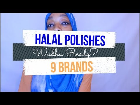 Halal Nail Polish – 9 Brands – Wudu Ready?