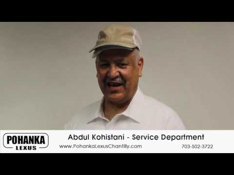 Service Department Abdul Kohistani