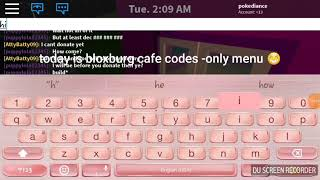 bloxburg cafe menu id 2019 - TH-Clip