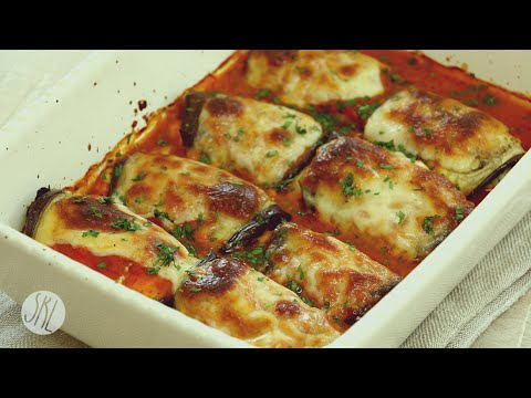 Video 1 Minute Recipe | Eggplant Rollatini