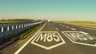M85-M86 autóút, Csorna elkerülő I. ütem
