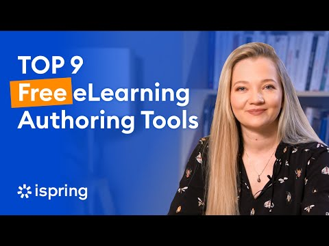 Top 9 Free eLearning Authoring Tools