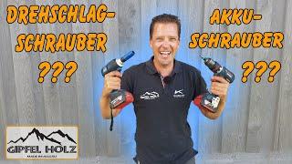 Was ist besser? Drehschlagschrauber oder Akkuschrauber | Bosch GDS 18V 300 Test